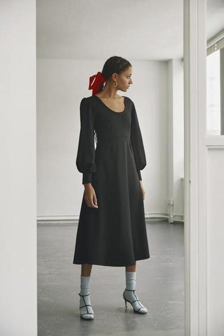 Eliza Faulkner Pandora Knit Dress - Black