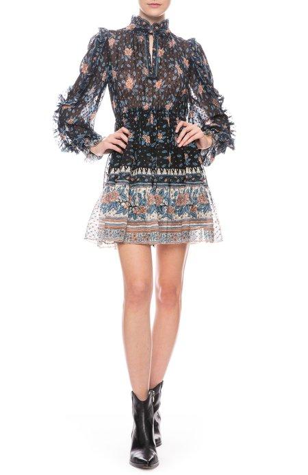 Ulla Johnson Dani Mini Dress - Noir