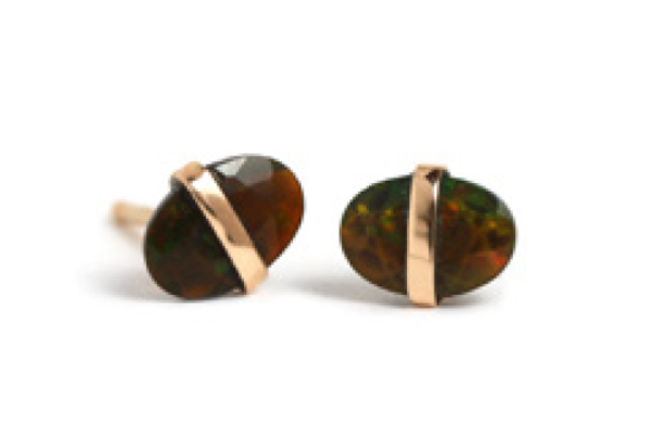 Melissa Joy Manning Opal Stud Earrings
