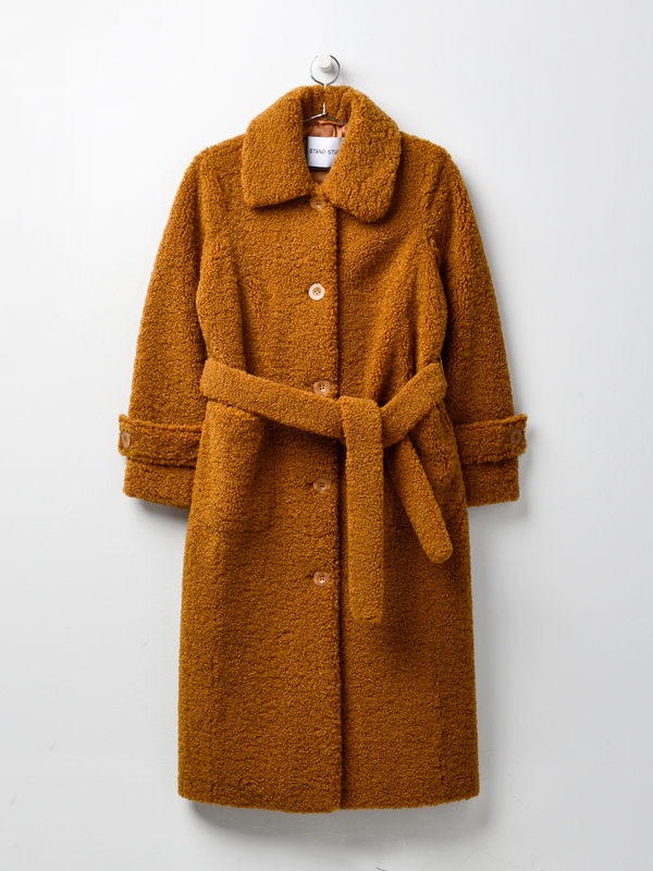 Stand Lottie Coat - Nougat
