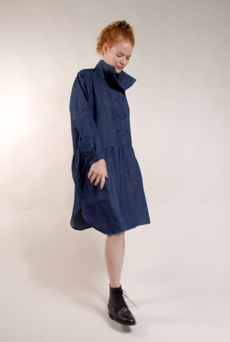 Built by Wendy Double Dress Dress - Denim