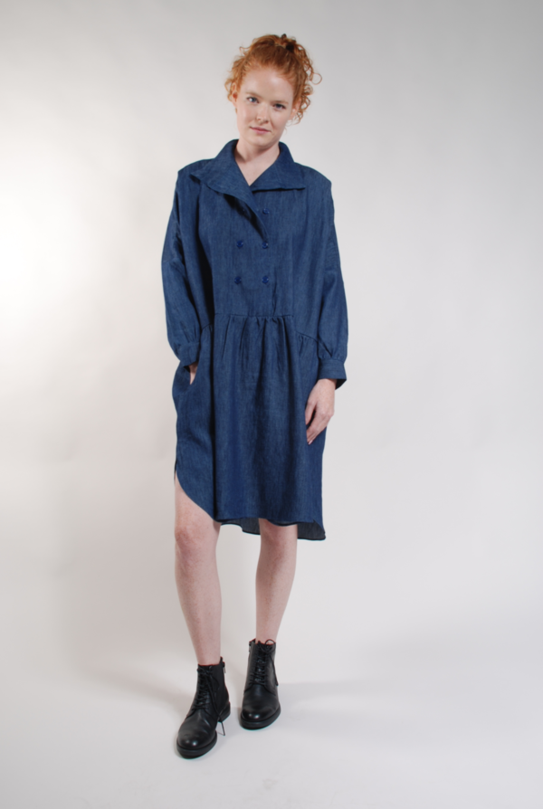 Built by Wendy Double Dress Dress - Denim