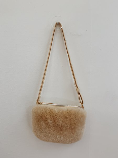 CLT Bags Furry Cross Body Bag