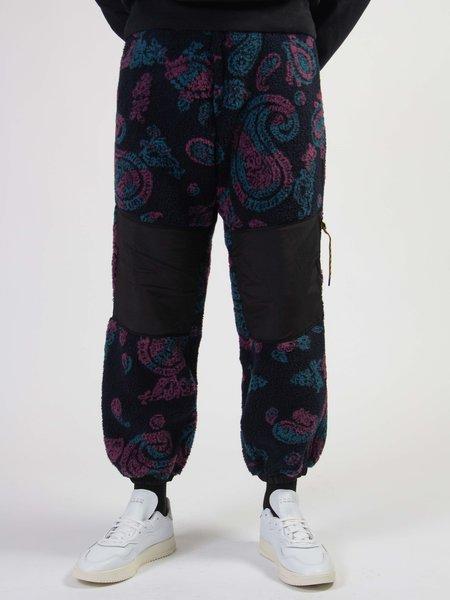 Aries Arise Fleece Track Pants - Paisley