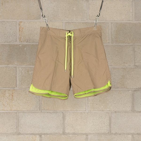 Meanswhile Equipment Board Shorts - Tan