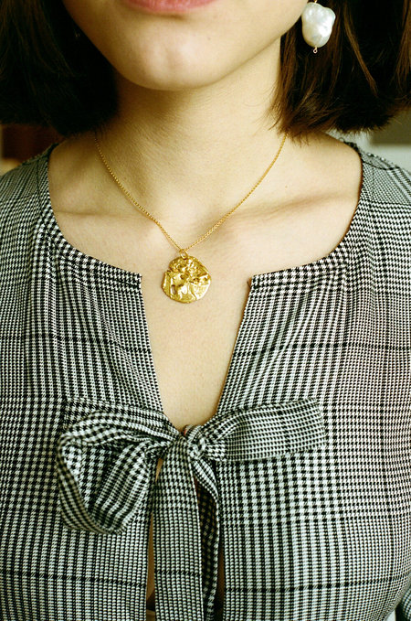 Alighieri The St Christopher Necklace Chapter I - Gold