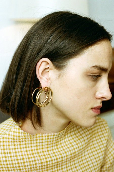 Completedworks An Interval Between Thunderstorms Earrings - Gold