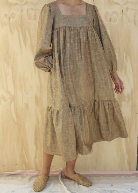 Lindsay Robinson Tia Dress - Bronze