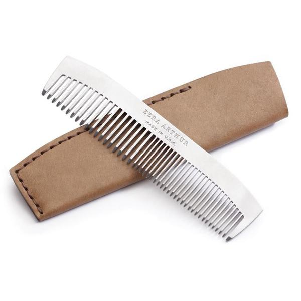 Ezra Arthur No. 1827 Pocket Comb - Whiskey