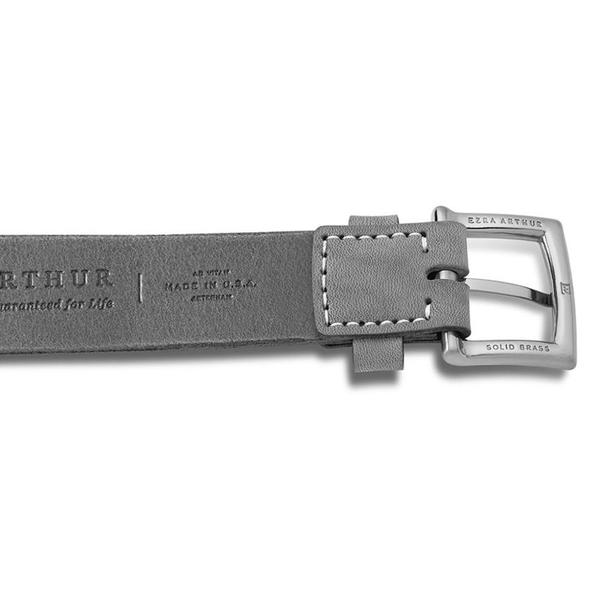 Ezra Arthur No. 3 30mm Belt - Black/Silver