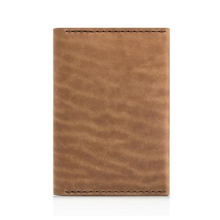 Ezra Arthur No. 5 Passport Wallet - Whiskey