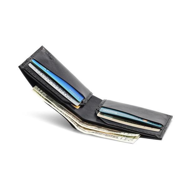 Ezra Arthur No. 6 Wallet - Jet Black