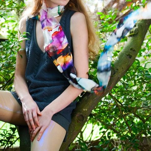 Aniimiism Summer scarf