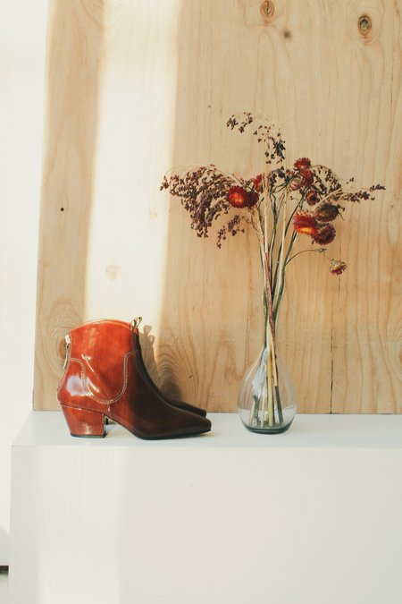About Arianne Johnny Cowboy Boot - Coffee