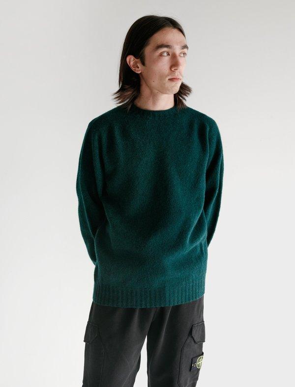 Neighbour Shetland Sweater - Forest