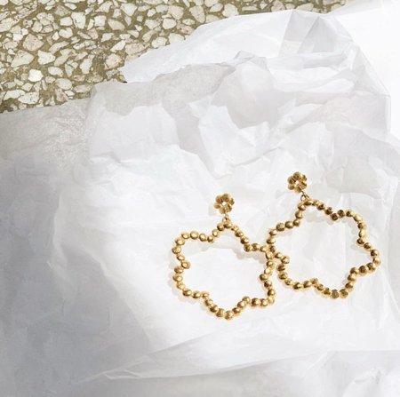 BEFORE MARCH Floret earrings