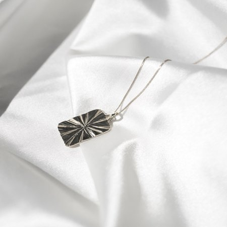 Eleventh House Golden Hour Necklace - Silver
