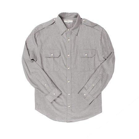 Krammer & Stoudt Carter Military Shirt - Light Blue