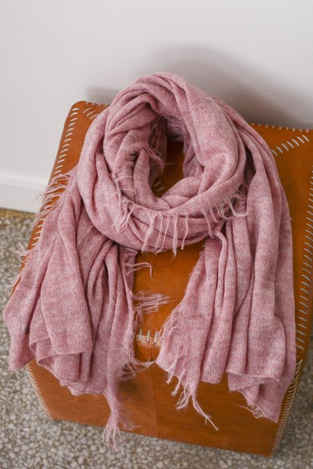 Latierra Sierra Brushed Scarf - Pink