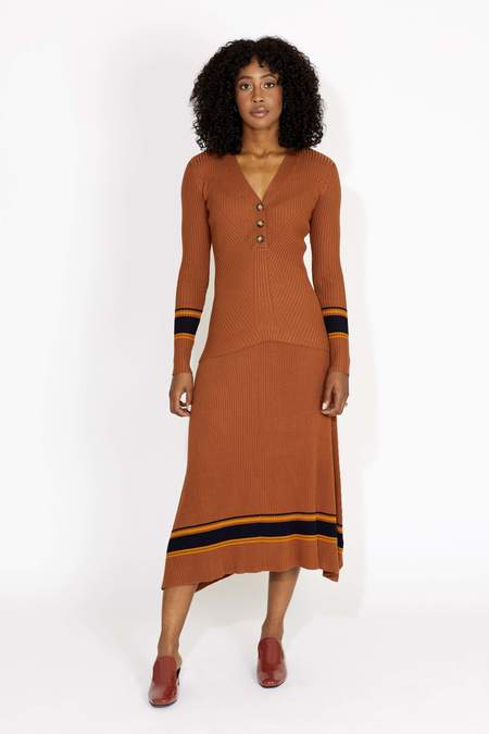 Just Female Vindis Knit Skirt - Pumpkin Spice