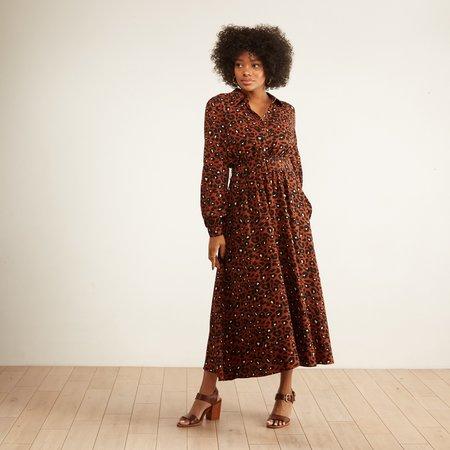Just Female Vilja Dress - Urban Leopard