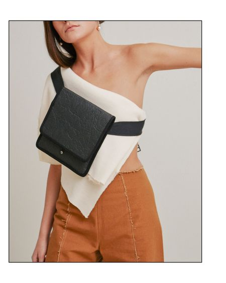 Grind and Glaze x Madlin Bags Crossbody/Fanny Pack - Black