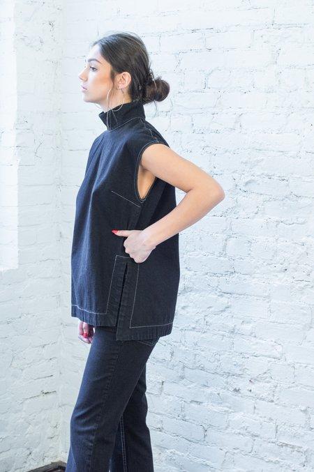 Rachel Comey Depart Top - Dark Indigo