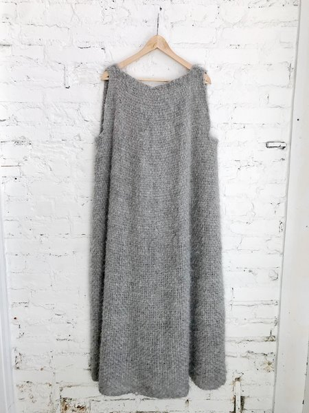 Amano by Lorena Laing Handwoven Dress - Grey