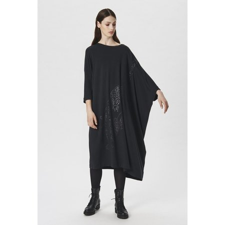 Bitte Kai Rand Osaka Wool Jersey Long Dress - Black