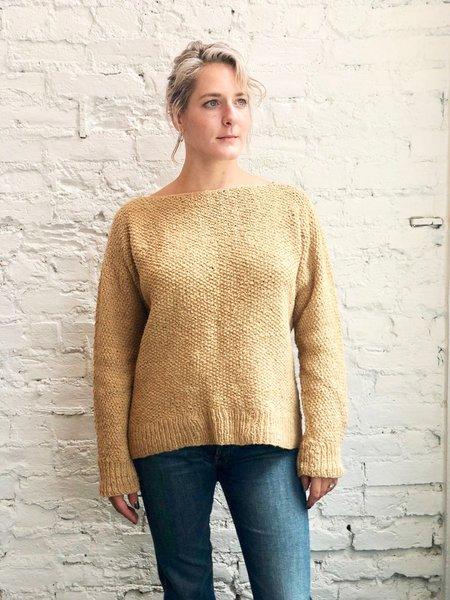 Handspun Cotton Hope Sonia Sweater - Shallot