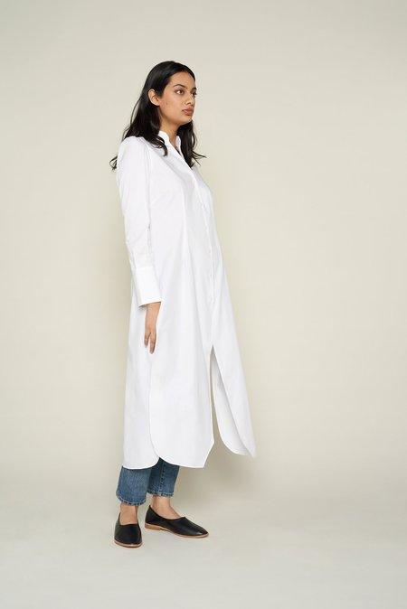 GRAMMAR NYC The Dangling Modifier Shirt - White