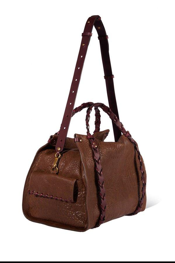 Jerome Dreyfuss Yannick Agneau Bag - Bronze