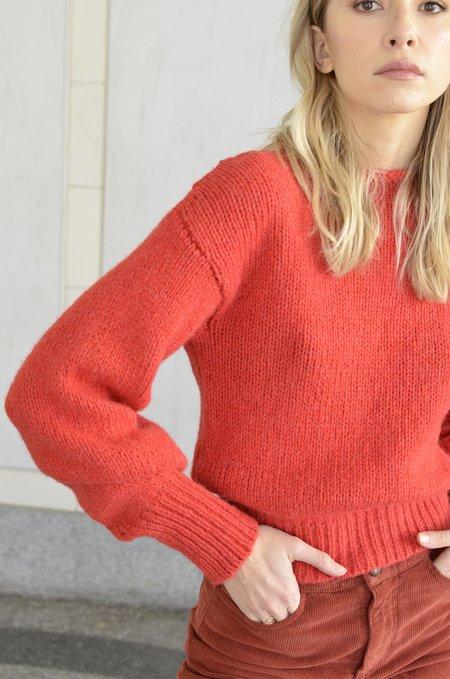 Paloma Wool Noche Sweater - Intense Red