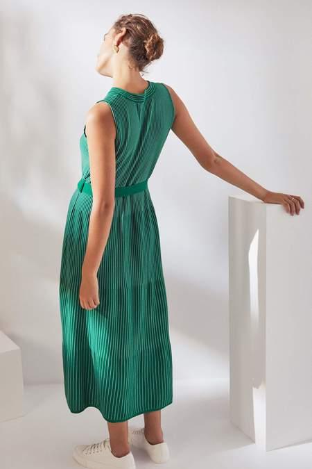 Kowtow Kaolin Dress - evergreen
