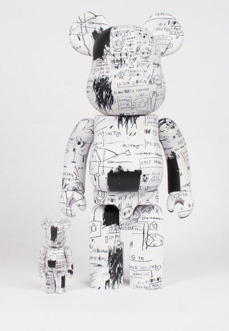 MEDICOM TOY Be@rbrick X Basquiat V3