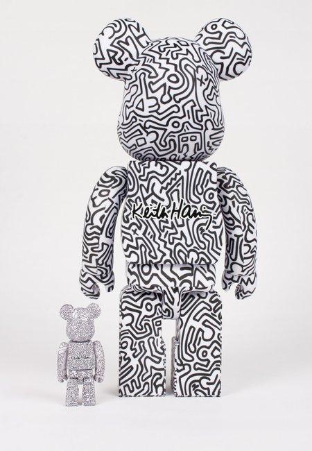 MEDICOM TOY Be@rbrick X Keith Haring #4 - 100% & 400% set