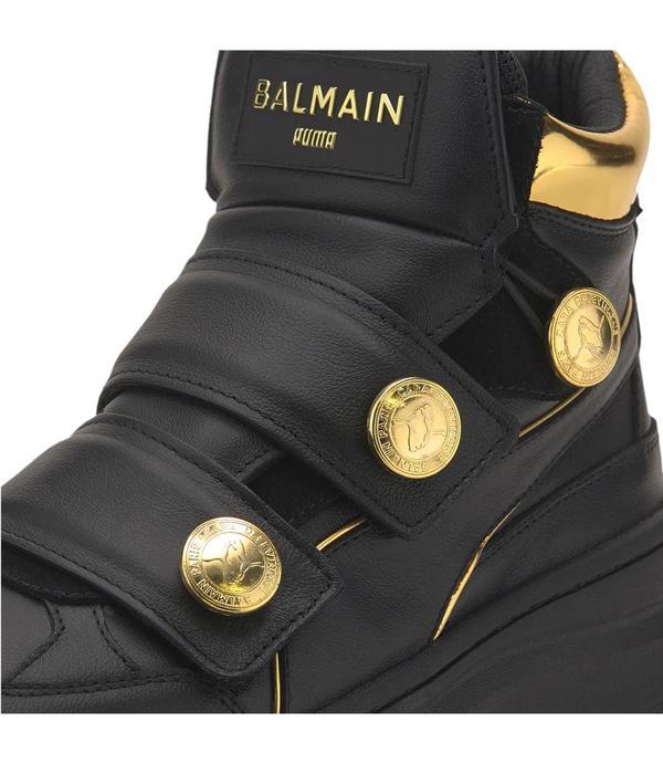 PUMA X BALMAIN DEVA STRAPS sneakers - BLACK