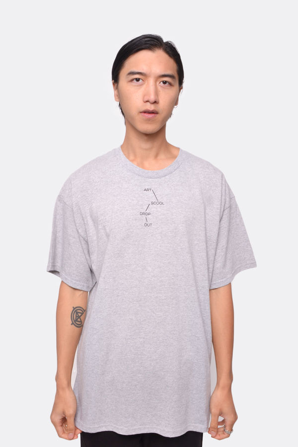 Unisex The Celect Drop Out T-Shirt - Gray