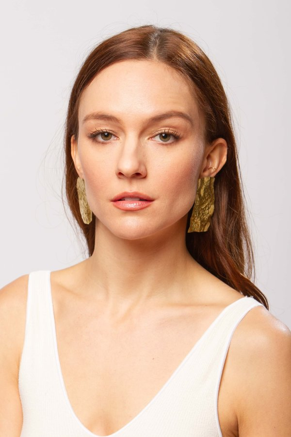 JULIE THÉVENOT Calanc earrings - gold