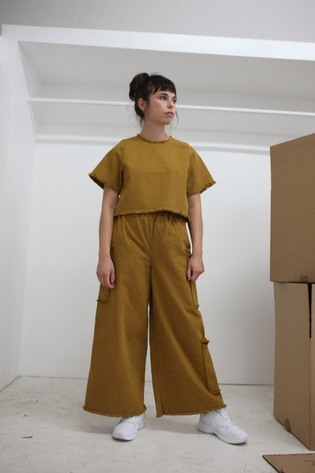 Ashley Rowe Fitted Tee - Desert Tan