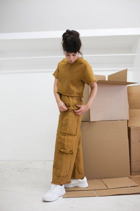 Ashley Rowe Pocket Pant - Desert Tan