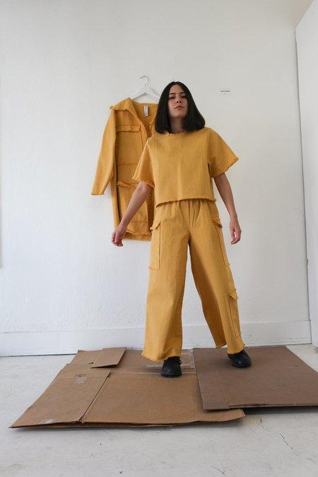 Ashley Rowe Pocket Pant - Golden Tan