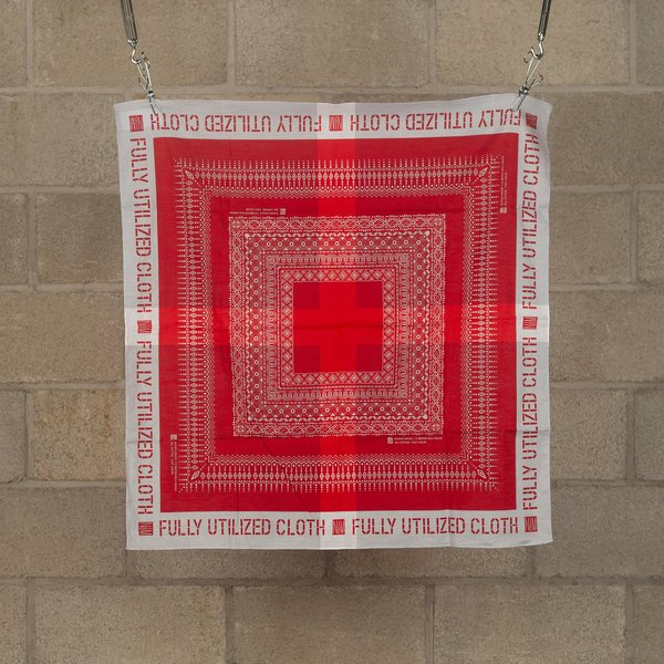 N.Hoolywood Fully Utilized Bandana - Red