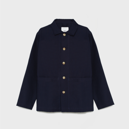 unisex curated by. Canvas Jacket - navy