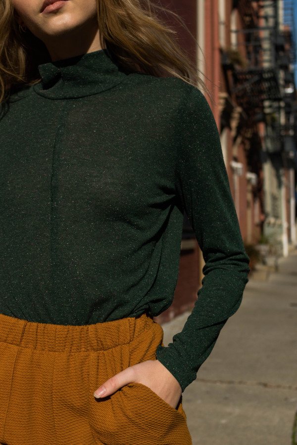 Eve Gravel A New Day Top - Spruce
