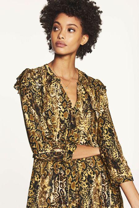Bash Paris Sahara Dress - Ochre