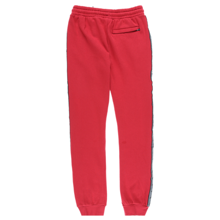 KAPPA 222 Banda Dariis Pants - Chilly Pepper/Grey Reflective