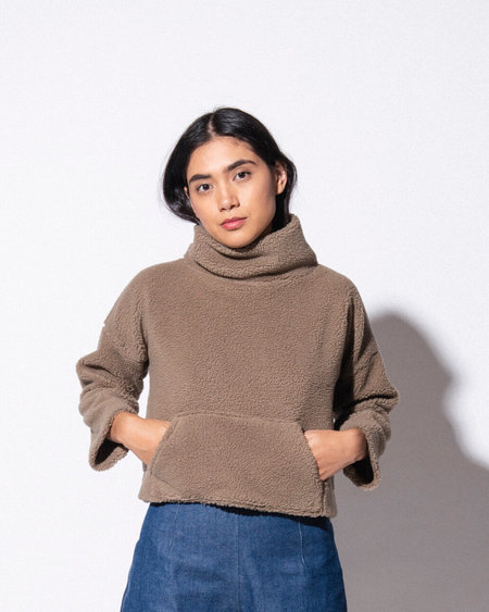 Marty Jean Plushie Funnel Neck Sweater