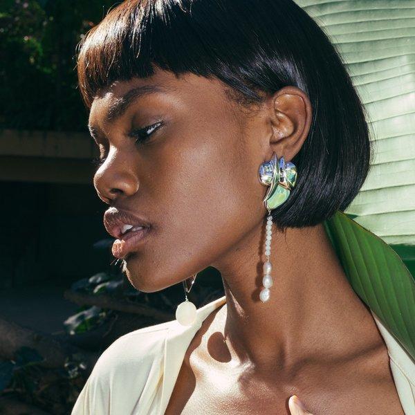Ming Yu Wang Majorelle Earrings