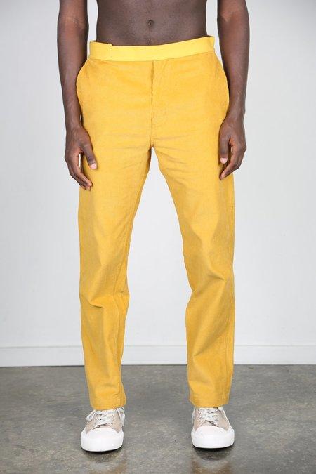 Brain Dead orduroy Carpenter Pant - Yellow